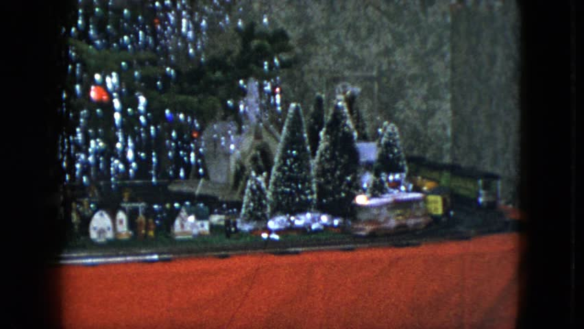 Cleveland Christmas.Cleveland Ohio 1951 Train Going Stock Footage Video 100 Royalty Free 21379192 Shutterstock
