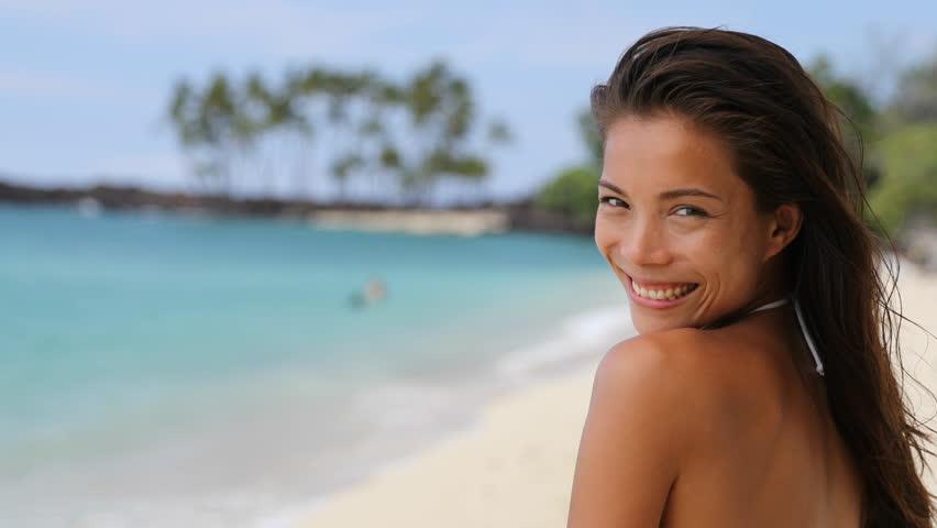 Beautiful Young Asian Model Portrait Bikini Woman -6573