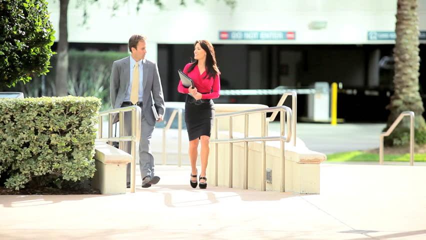 City businessman and colleague    Shutterstock HD Video #2151902