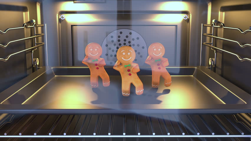 Gingerbread man Dancers - . 3D animation of funny, hot and sweet cookie boy dancing for holiday and kid event, show, VJ, party, music, website, banner, dvd  | Shutterstock HD Video #21549772
