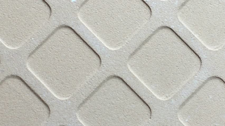 The Back Side Of Tile 4k Stock Video Clip