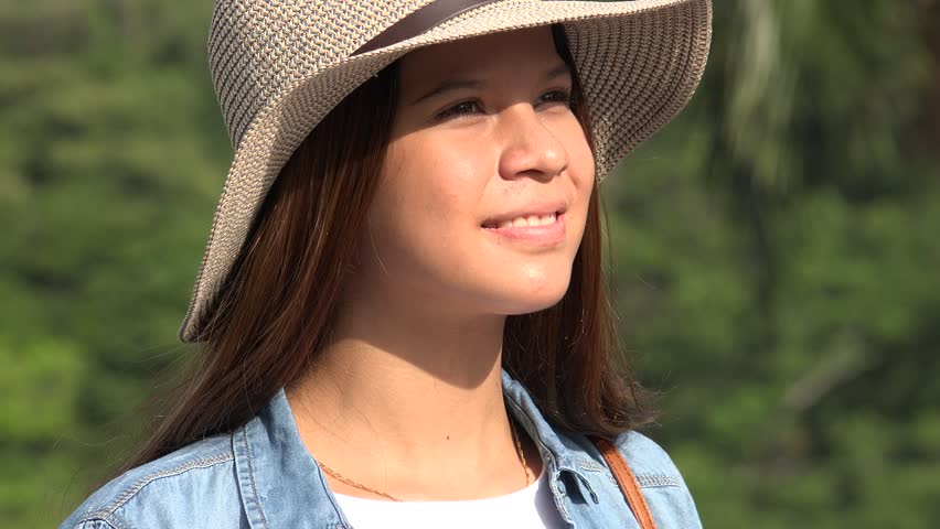 Hot Teen Girl On Summer Day Stock Footage Video 14244296  Shutterstock-8089