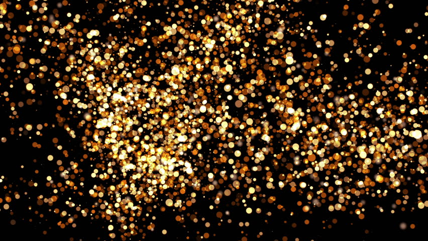 Abstract background with shiny particles. Sepia tint. Seamless loop. More color options available in my portfolio. #21707992