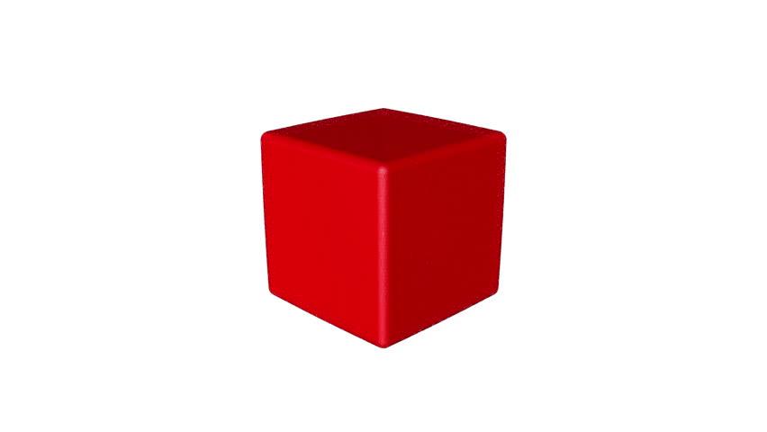 Картинки красный кубик