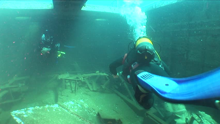 Shipwreck Swaying Underwater Ship Wreck Stock Footage Video (100%  Royalty-free) 21828742 | Shutterstock
