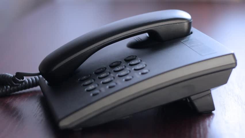 Man making phone call
