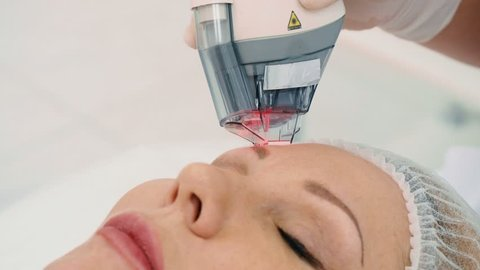 The procedure from wrinkles removal on the face