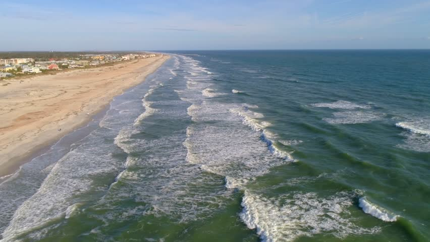 Stock Video Of Aerial Drone Footage St Augustine Beach 21997942 File Miami Fl Normandy