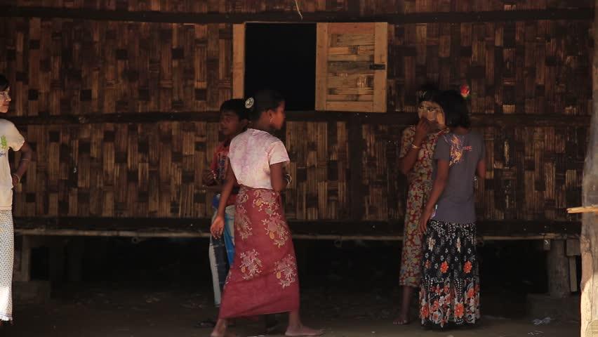 Rakhine State, Myanmar - November Stock Footage Video (100% Royalty-free)  22008952 | Shutterstock