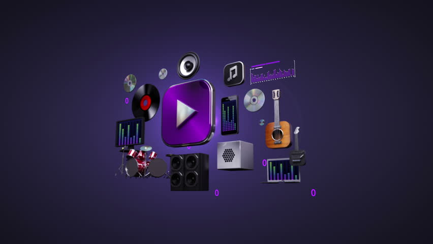 Listening Mobile Music, Entertainment Music Stock Footage Video (100%  Royalty-free) 22047562   Shutterstock