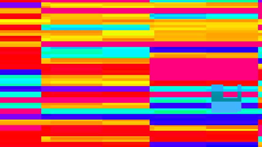 Abstact video background with bright stripes in style glitch.Random digital signal error.4k  | Shutterstock HD Video #22061020