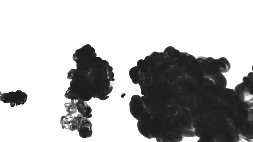Black Ink Drop in Water Stock Footage Video (100% Royalty-free) 22063012 |  Shutterstock