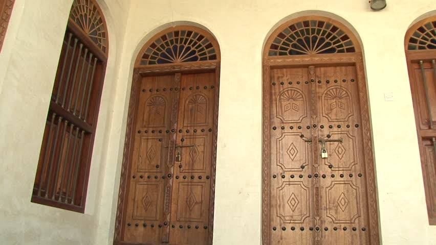 View of traditional carved wooden doors decorated with iron studs leading & Opening Church Doors Stock Footage Video 1972120 | Shutterstock Pezcame.Com