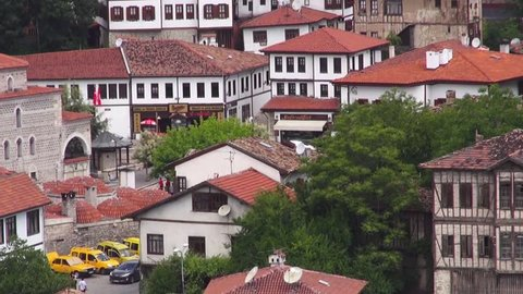 The old historic houses in Safranbolu, Safranbolu, on May 31, 2014