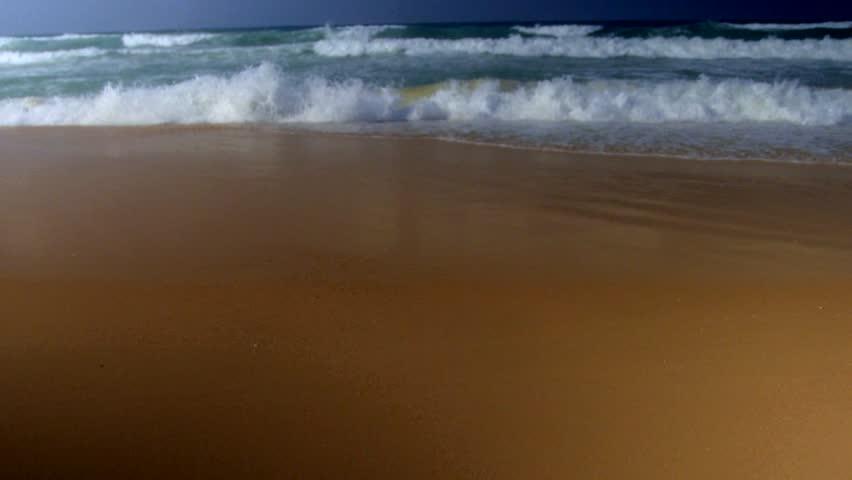 Crashing waves, Mediterranean Sea, South of Israel