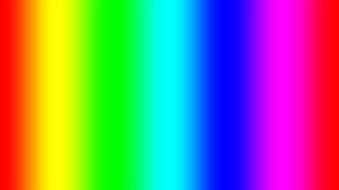 Rainbow spectral gradient moving quickly left, seamless loop
