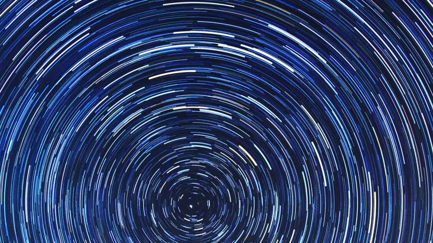 Star tracks Fisheye timelapse. | Shutterstock HD Video #22176562