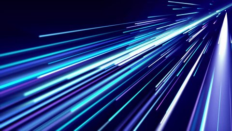 Blue light streaks. Abstract motion background. 4K, Ultra HD resolution. Loop ready animation. This clip is available in multiple other color options - check my portfolio.