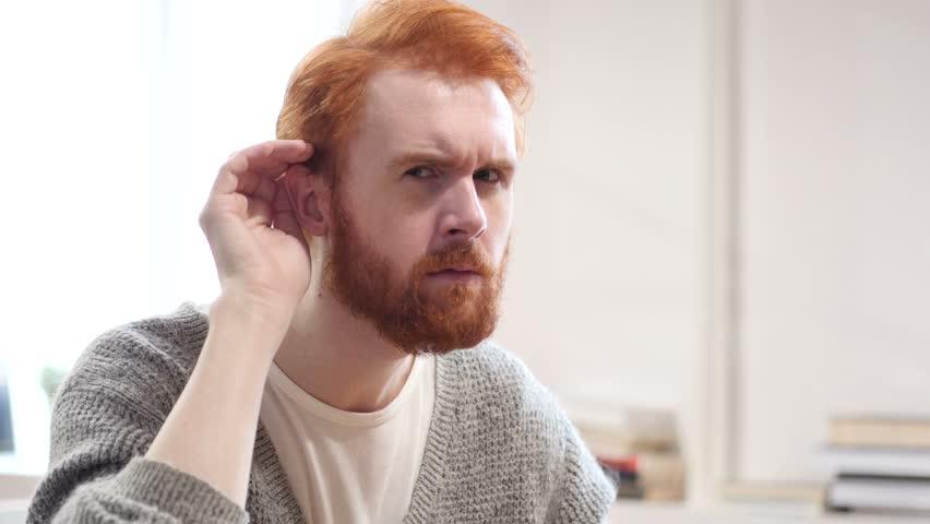 Man Listening Secret Carefully | Shutterstock HD Video #22247122