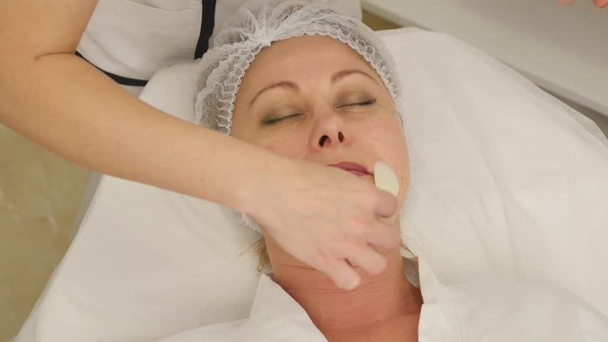 Woman Having Laser Treatment At Beauty Clinic. | Shutterstock HD Video #22266907