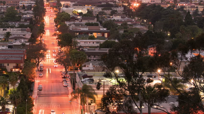 Culver City Traffic Time Lapse 13 Los Angeles | Shutterstock HD Video #22295452