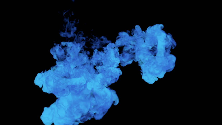 Blue Paint Dissolved in Water Stock Footage Video (100% Royalty-free)  22296172 | Shutterstock
