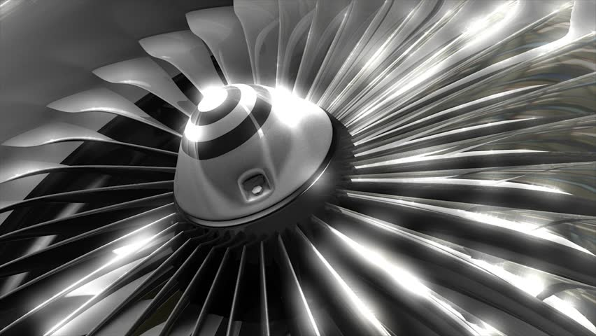 Steam turbine stock footage video shutterstock - Jet engine wallpaper ...