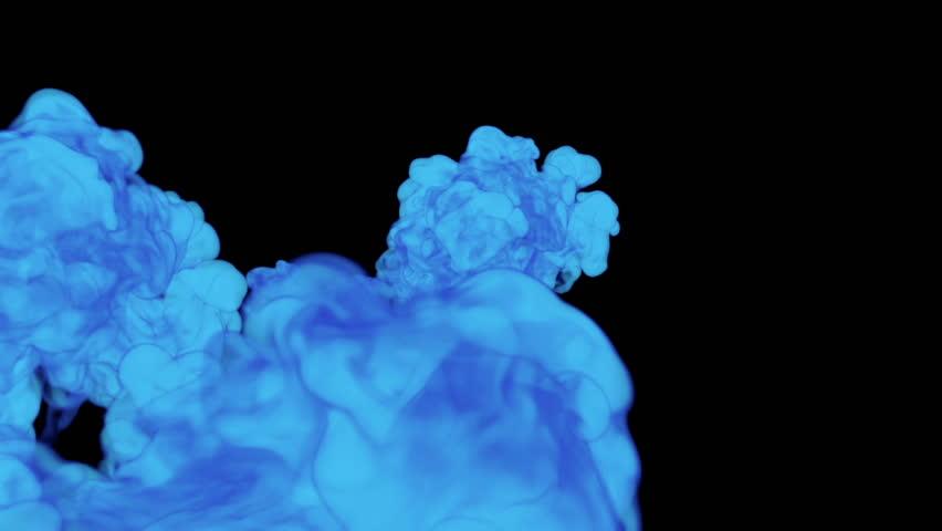 Blue Ink Drop in Water Stock Footage Video (100% Royalty-free) 22363402 |  Shutterstock