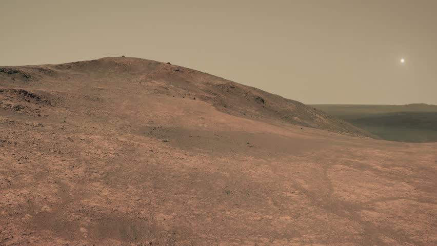 The Terraforming Of Mars Stock Footage Video 12935162 ...