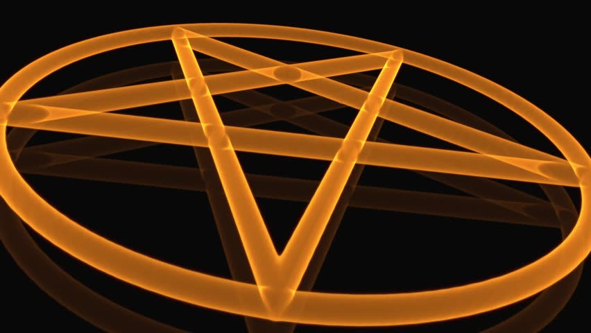 4K Pentagram on Fire Magic Symbol 3D Animation | Shutterstock HD Video #22522852