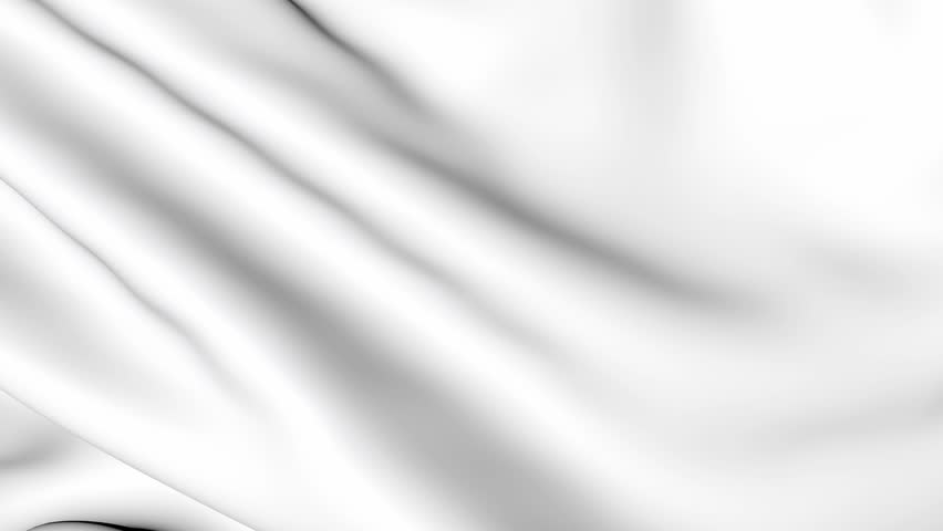 Wave white satin fabric. Silk cloth fluttering in the wind. Background the tenderness and airiness of motion. 3D animation of a waving cloth.  | Shutterstock HD Video #22551697