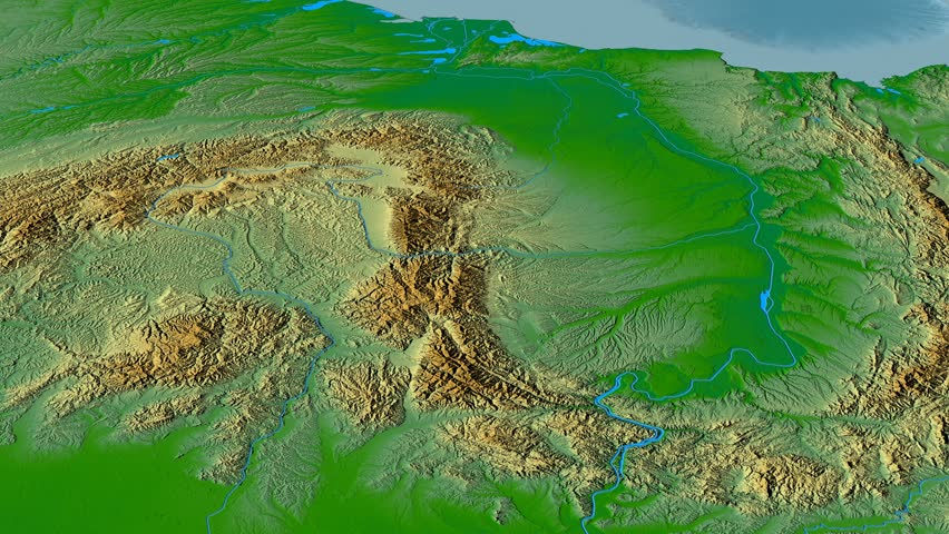 Revolution Around Transylvanian Alps Mountain Range Masks - Aster gdem free download