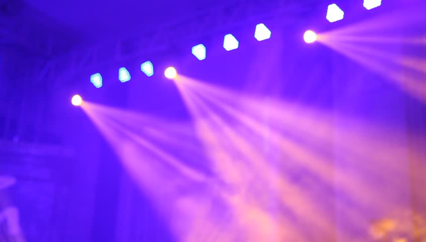 Stock Video Of Stage Lighting