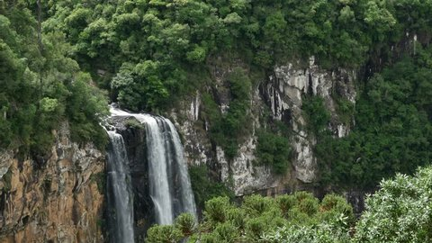 Sipi Falls is a Series Stock Footage Video (100% Royalty
