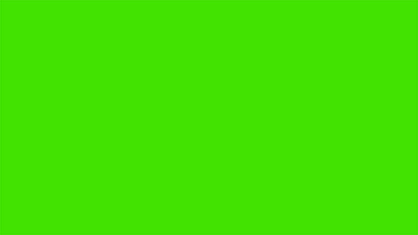 Minimal Counting Down Numbers HD animation on green background. | Shutterstock HD Video #22752952