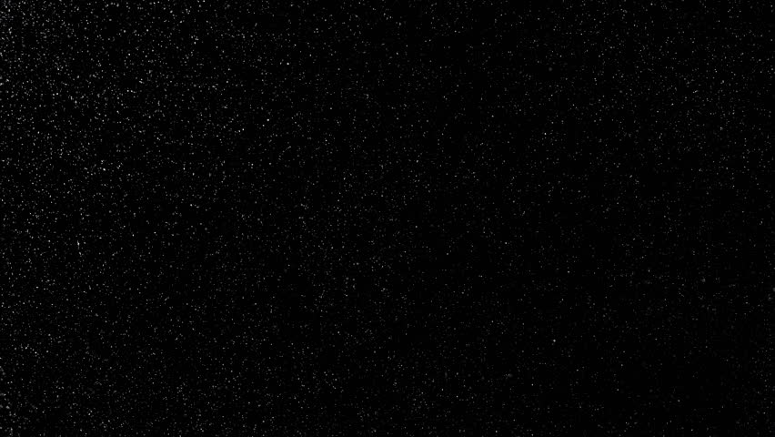 White particles ascending and descending slowly like snow on black background | Shutterstock HD Video #22790572