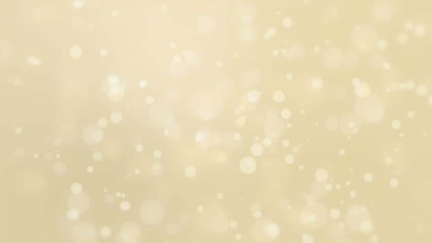 Beautiful soft golden background with moving light particles creating a bokeh effect. | Shutterstock HD Video #22870939