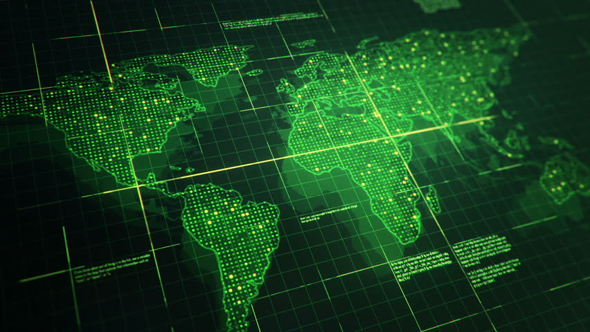 Digital world map hologram blue background 4k stock footage video 20332951 shutterstock - Digital world hd ...