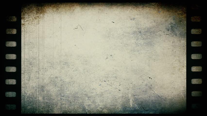 Old Film Reel Texture A Flickering Film Stri...