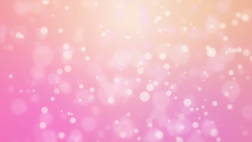 Sweet romantic pink background with floating light bubbles stock sweet romantic pink orange gradient animated background with floating glowing bokeh lights hd stock voltagebd Choice Image