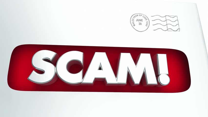 Header of mail fraud