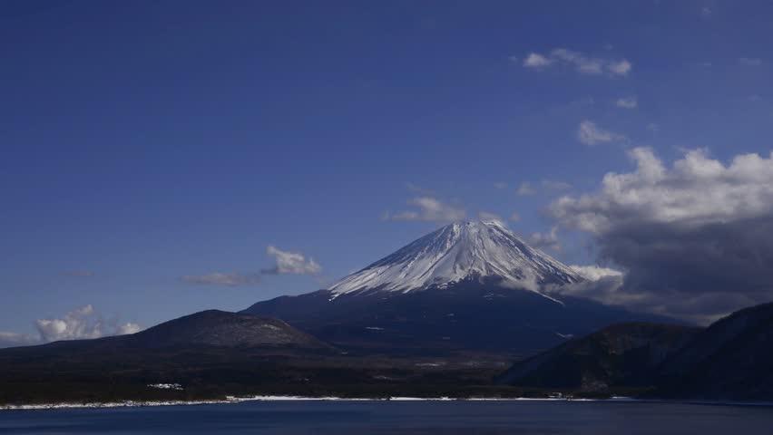 Mt.fuji from lake motosu | Shutterstock HD Video #23260192