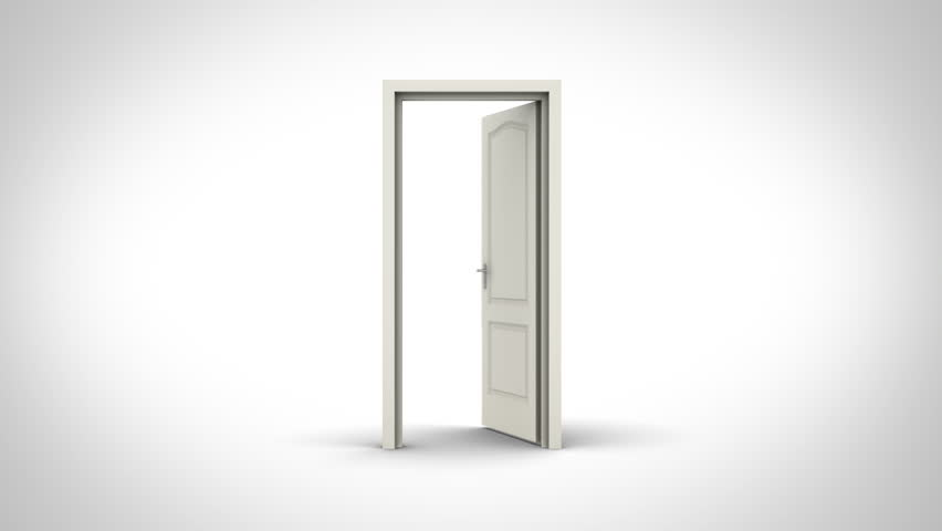 Door opening on white background. - 4K stock video clip  sc 1 st  Shutterstock & Door Opening On White Background Stock Footage Video 775687 ...