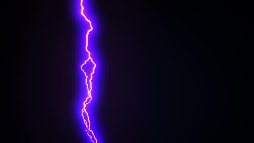 Lightning Strikes Over Black Background Stock Footage Video (100%  Royalty-free) 23320882 | Shutterstock