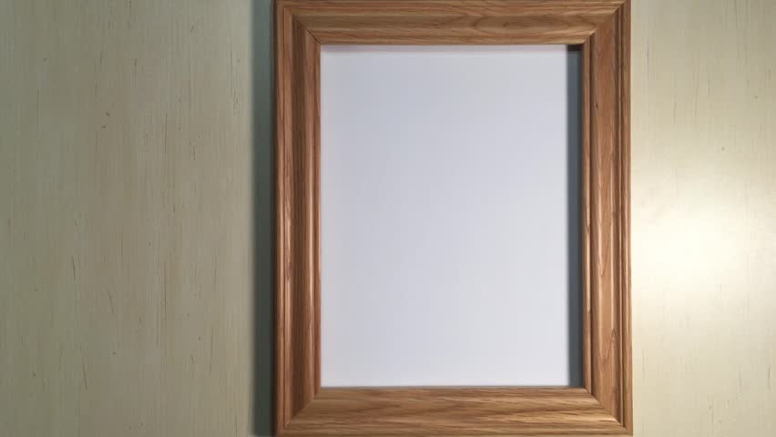 spooky image of a frame with a figure trying to come out of it hd