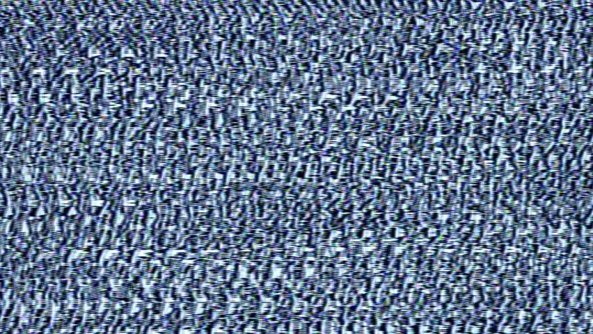 Navy Blue / White Analog HD Video Feedback Pattern Texture    Shutterstock HD Video #23349769