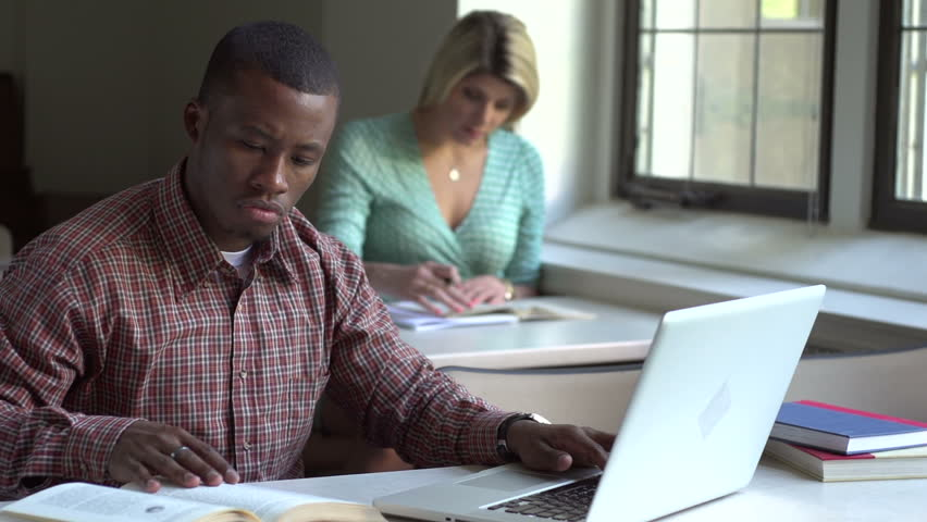 African American man studying   Shutterstock HD Video #2339087