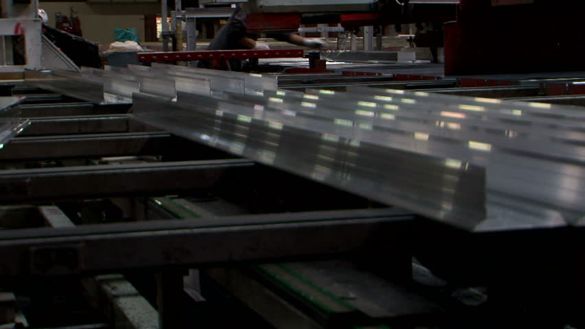 Aluminium Extrusion Production Line Factory Stock Footage Video (100%  Royalty-free) 23444782 | Shutterstock