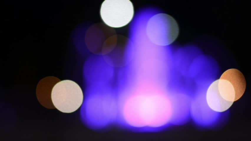 Abstract blurred bokeh at night light.for video design.  | Shutterstock HD Video #23450320