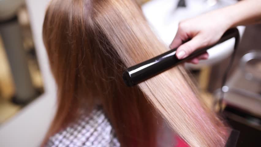 Znalezione obrazy dla zapytania: hair straightening